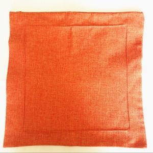 Other - Orange Pillow Cover COVER ONLY Fall Pumpkin🌼$2/20